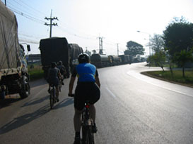 cycle ride to phnom penh